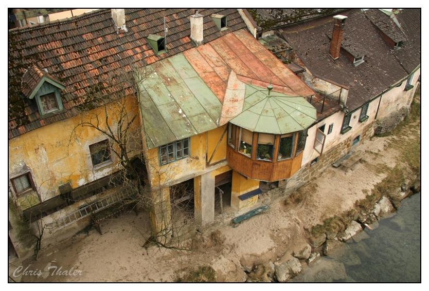 Haus mit Strand
