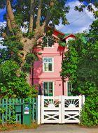 Haus rosarot