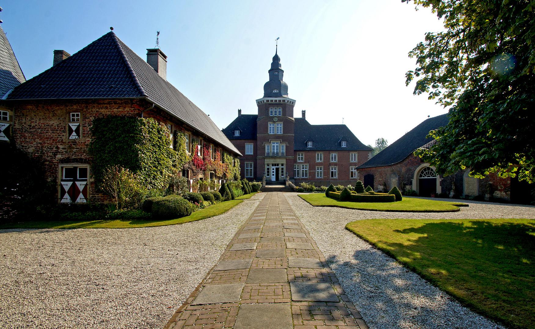 Haus Sandfort - Innenhof.