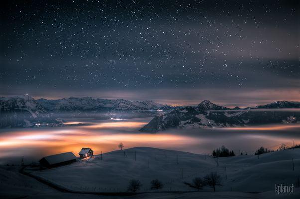 ... Haus über den Wolken ...