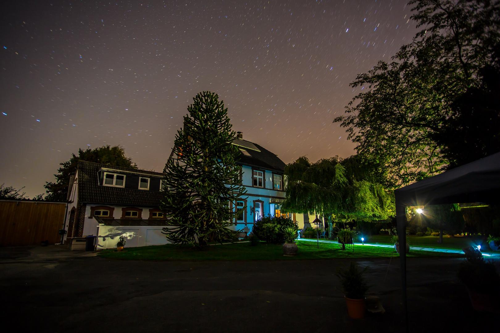 Haus unterm Sternhimmel :)