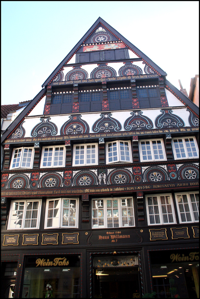 Haus Willmann erbaut 1586
