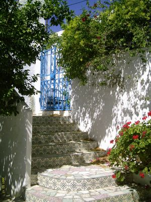 Hause Eingang