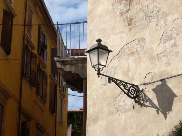 Hausecke in Verona