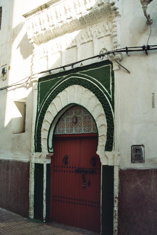 Hauseingang - Casablanca