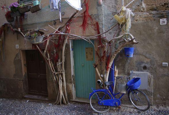 Hauseingang in Alghero