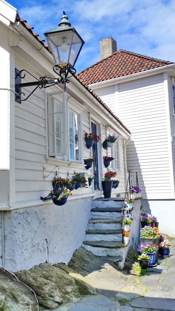 Hauseingang in der Gamle-Stadt