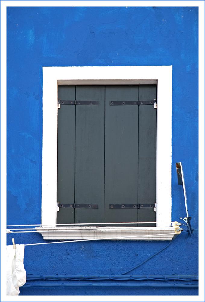 Hausfenster auf Burano