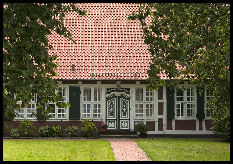 Hausfront im Alten Land