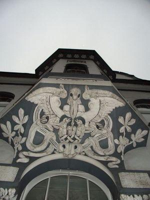Hausfront in Mönchengladbach