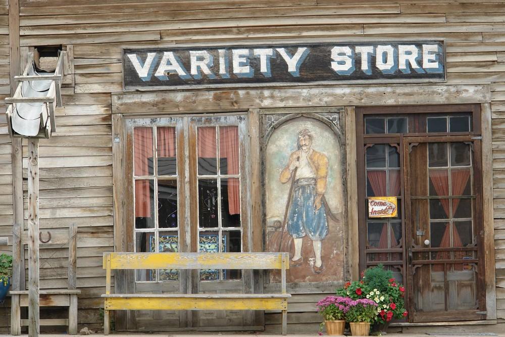 Hausfront in Virgina City