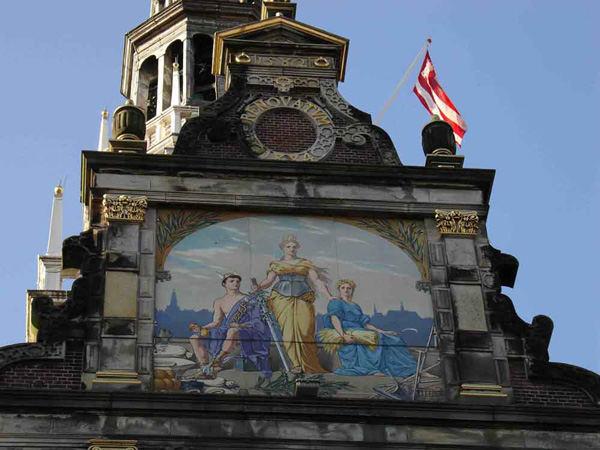 Hausgiebel in Alkmaar