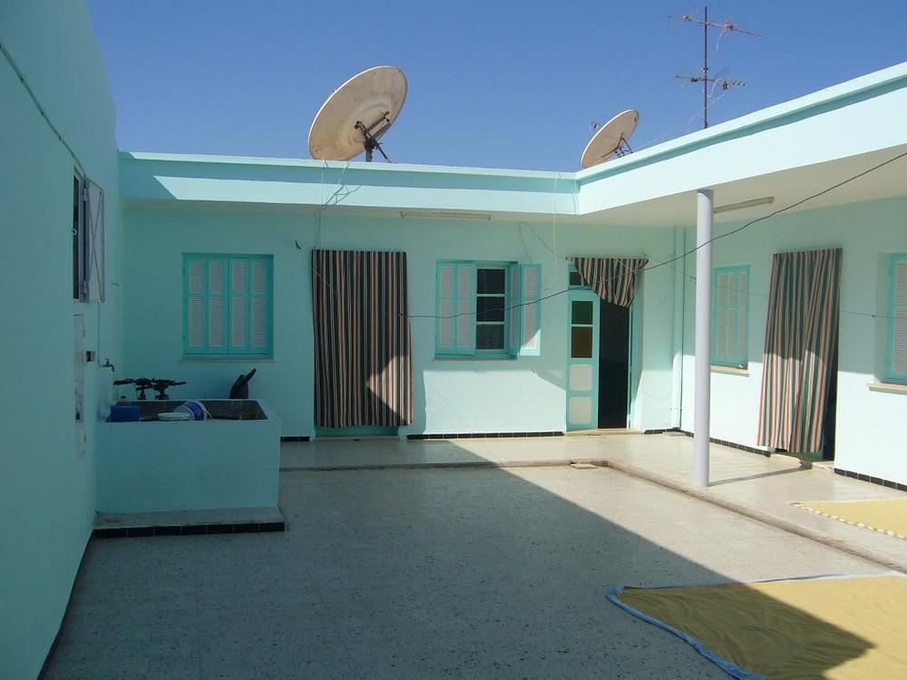 Hausinnenhof in Hammam Sousse