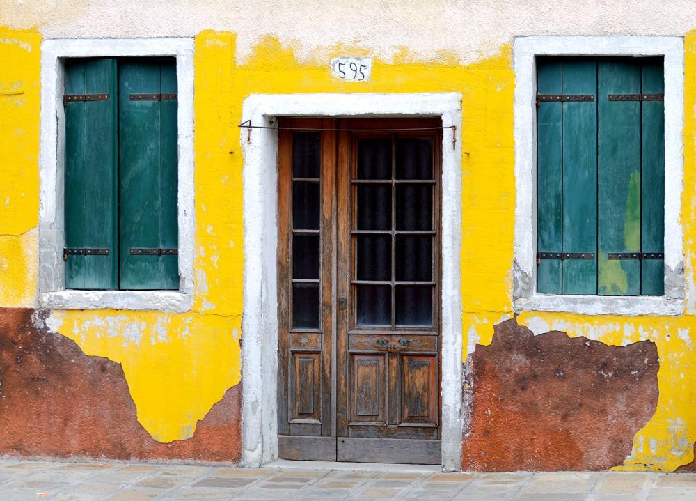 Haustür auf Burano