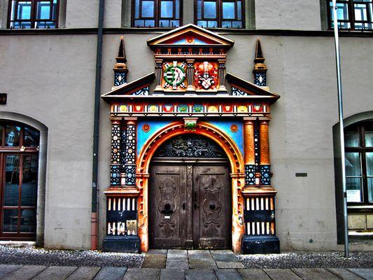 Haustür Naumburg (Markt)