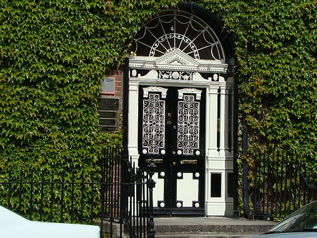 Haustüre in Dublin