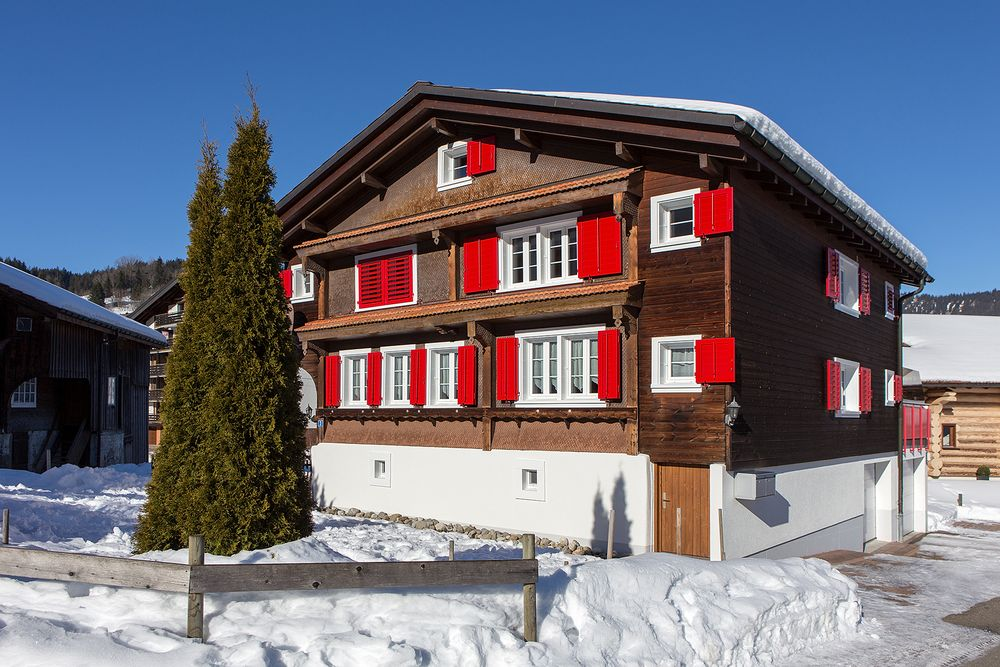 Haustypen der Schweiz