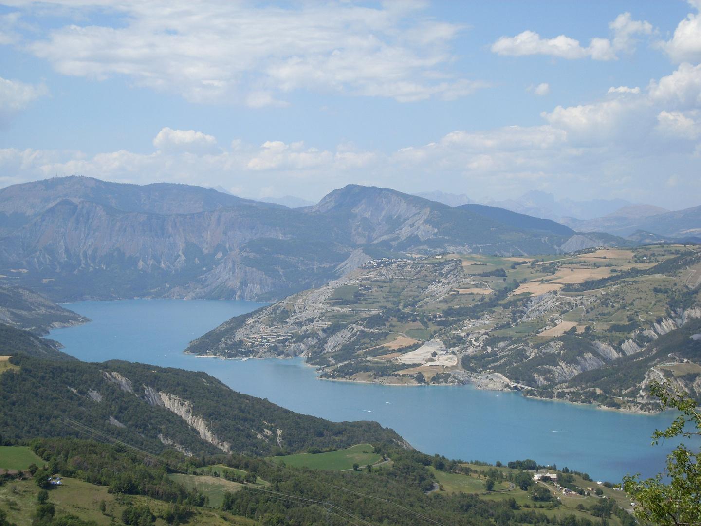 Hautes-Alpes Lac