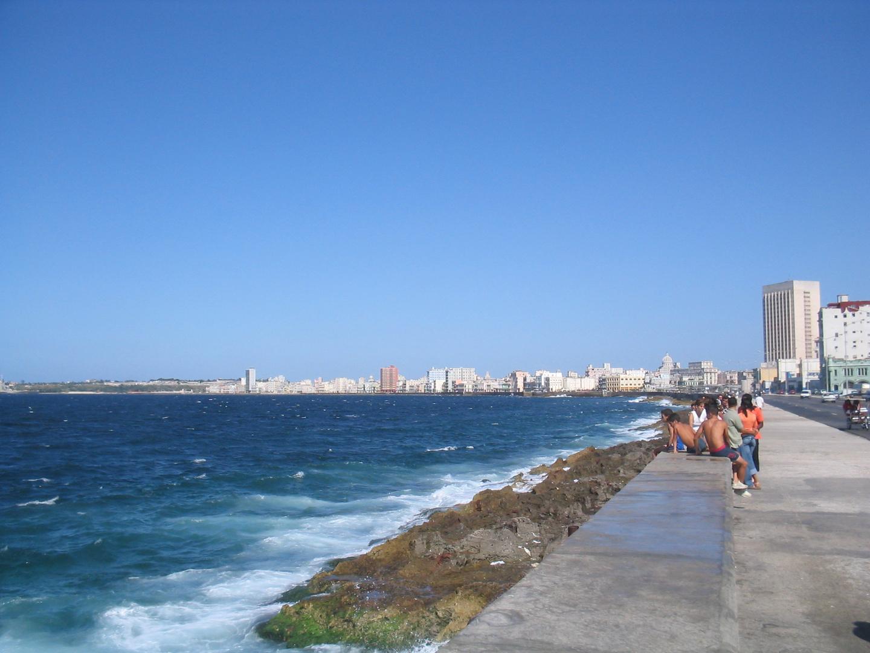 Havanna auf dem Malecon
