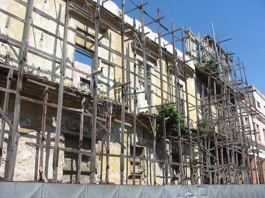 Havanna - Fassadengerüst