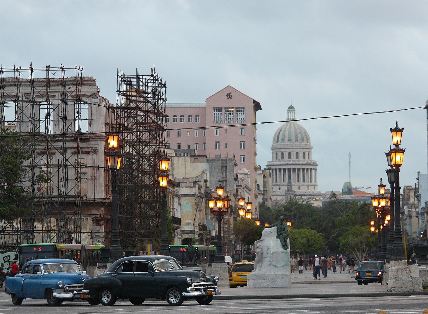 Havanna, im Hintergrund das Capitol