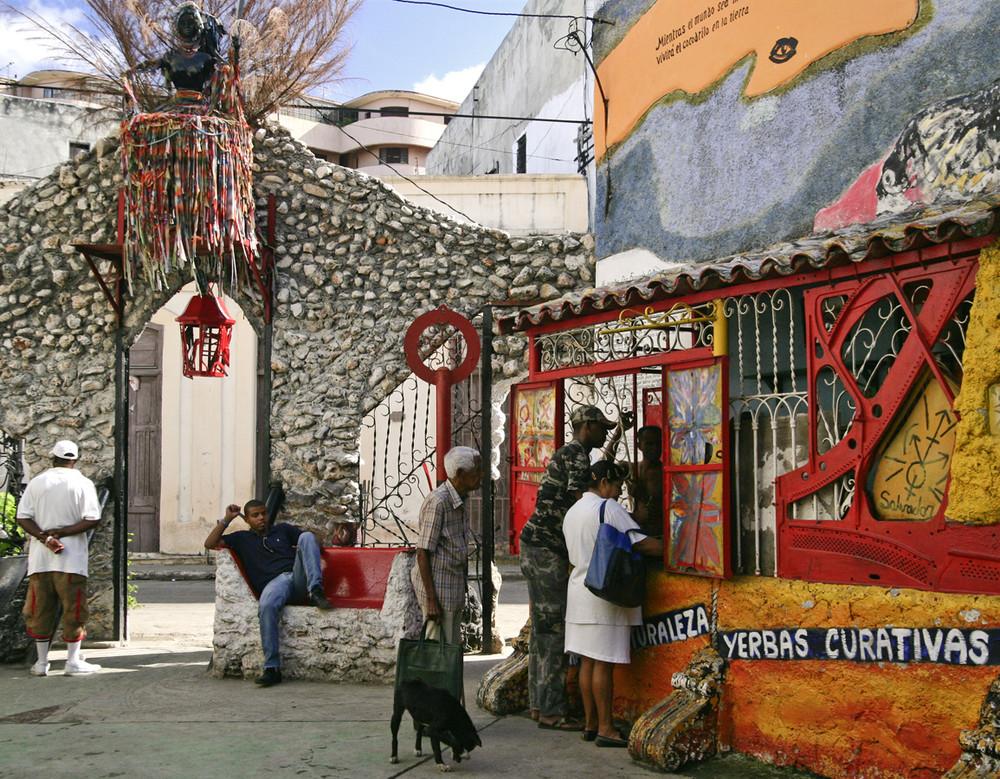 Havanna / La Habana (13), Callejón de Hamel, 12/2006