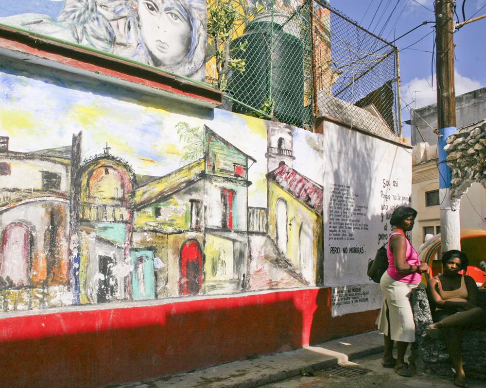 Havanna / La Habana (18), Callejón de Hamel, 12/2006