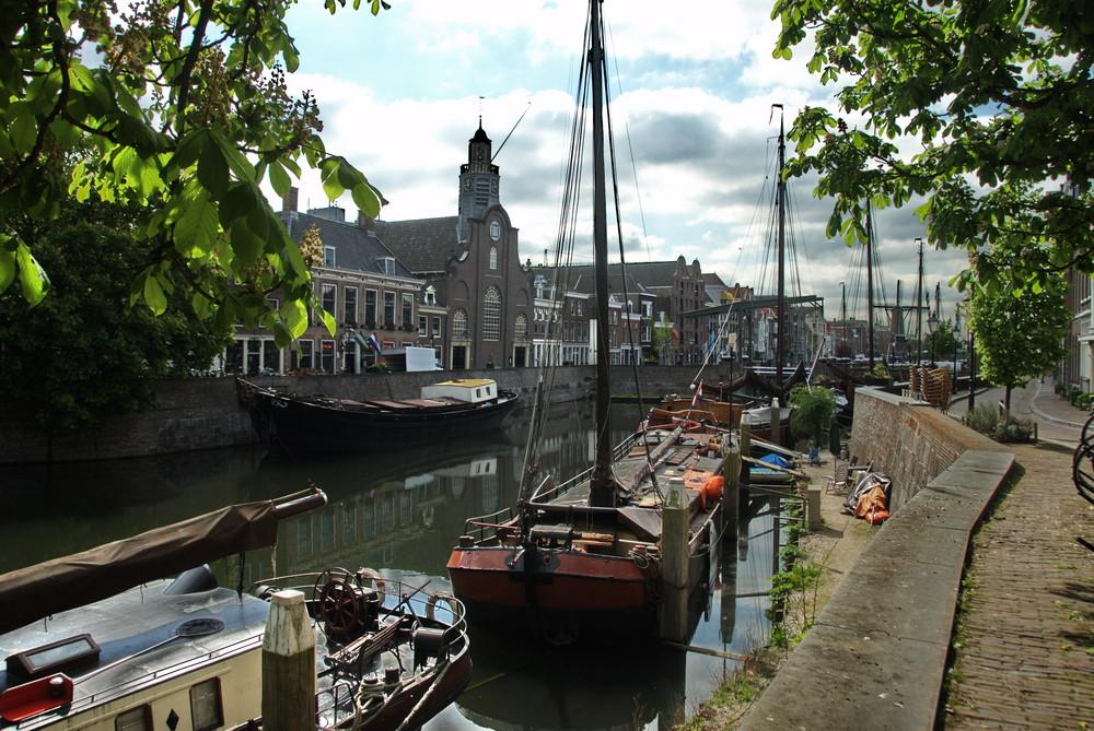 Haven in Rotterdam