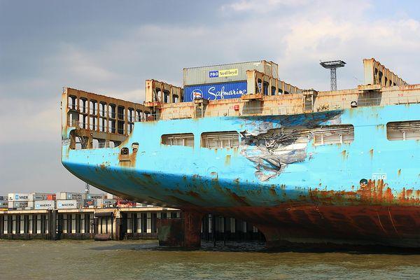 HAVERIE!!! - Maersk Kalmar (1)