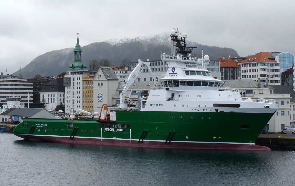 Havila Mars- Schlepper    in Bergen
