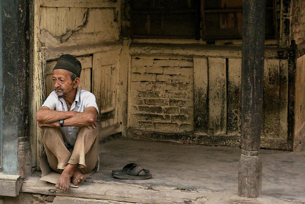 Havre de paix vieillissant à Katmandou (Népal)