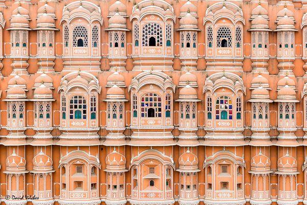Hawa Mahal detail