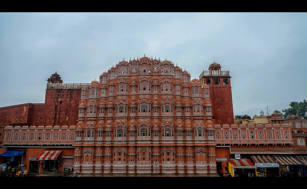 Hawa Mahal in Jaipur - Palast der Winde