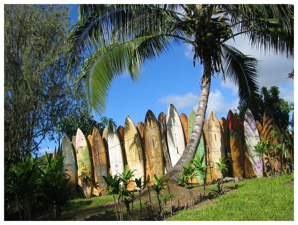 Hawaii - Gartenzaun