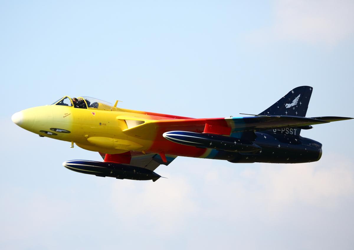 Hawker Hunter F.58 at Dunsfold Airshow