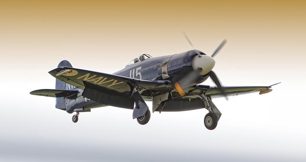 ~Hawker Sea Fury Full-Flap~