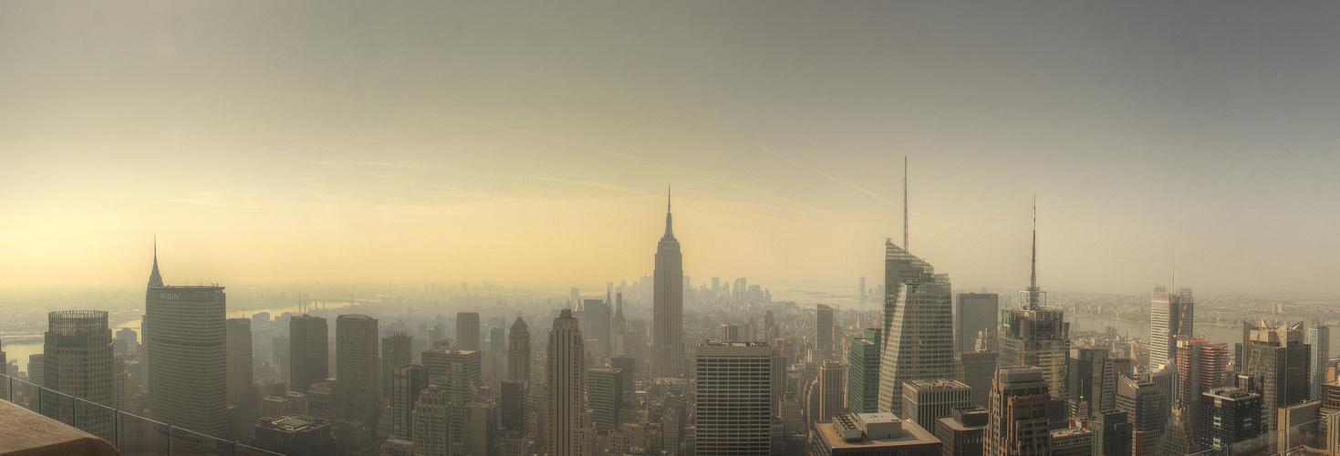 hazy afternoon...