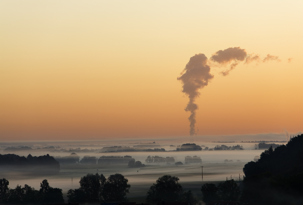 hazy landscape 2