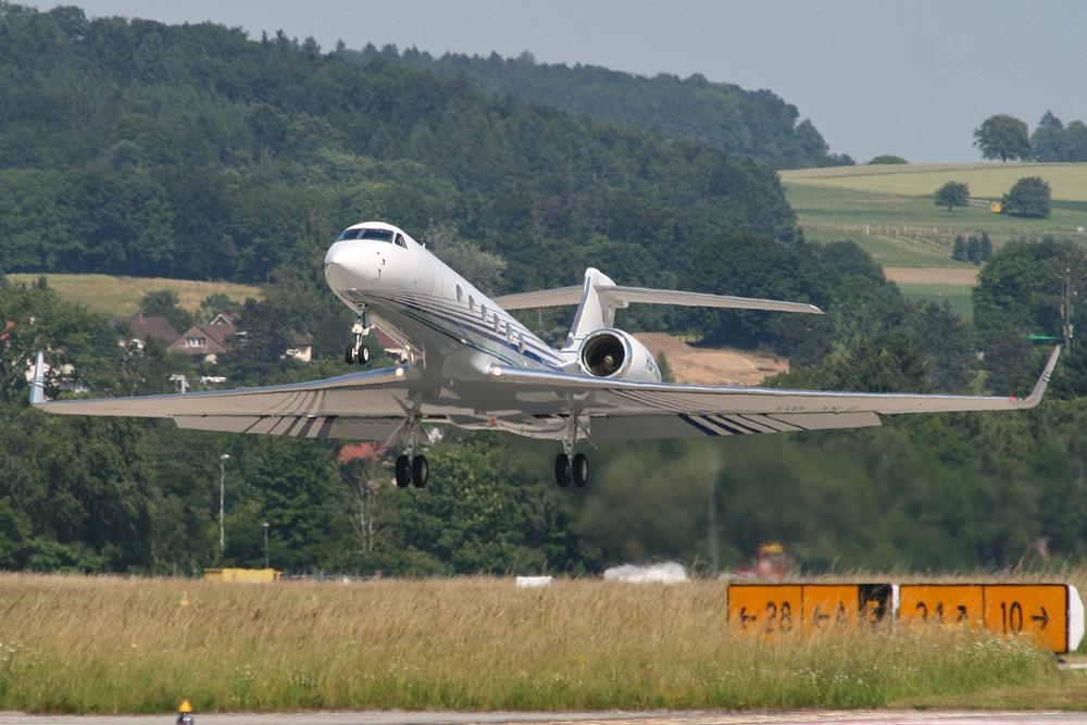 HB-IVZ - Gulfstream G-V - Private