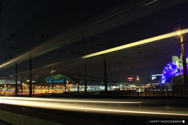 HBF Köln bei Nacht