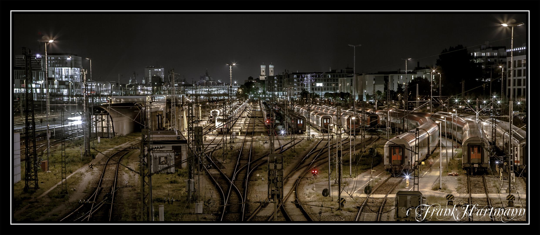 HBF München bei Nacht