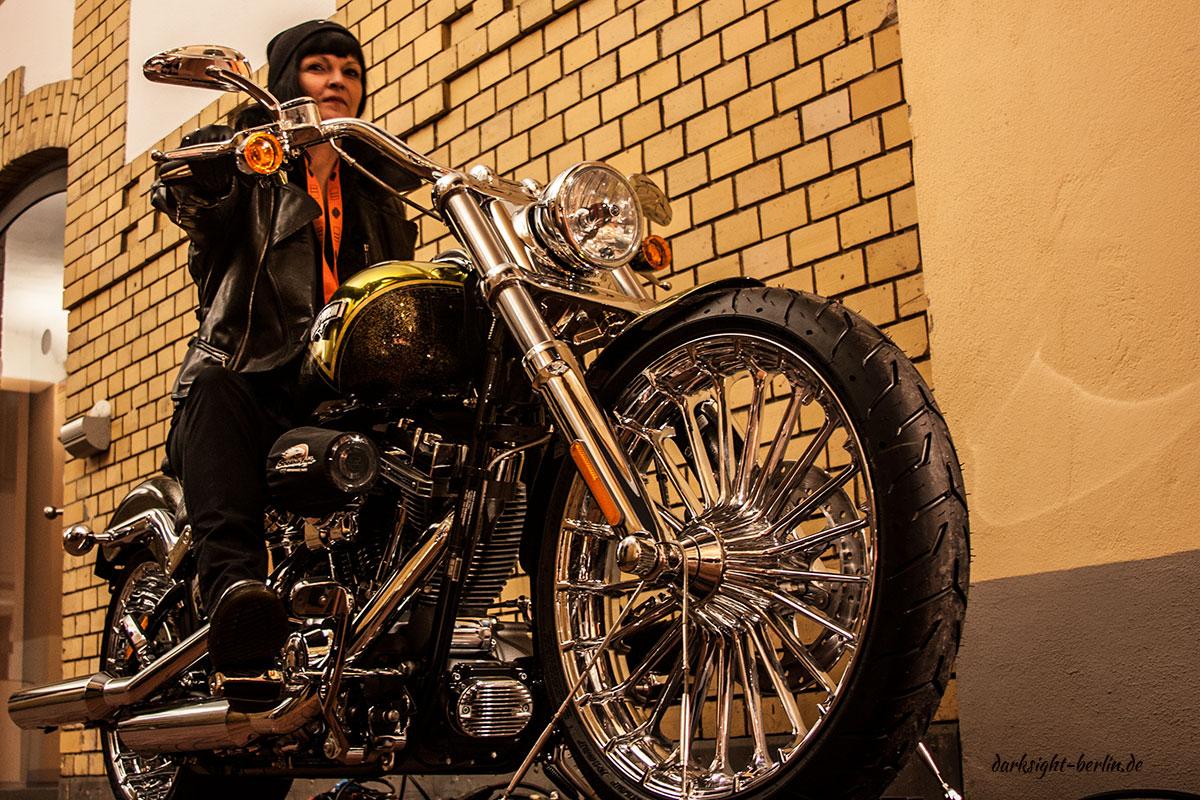 """#HD110  Die neue """"Softail Breakout"""" 2013 von Harley Davidson"""