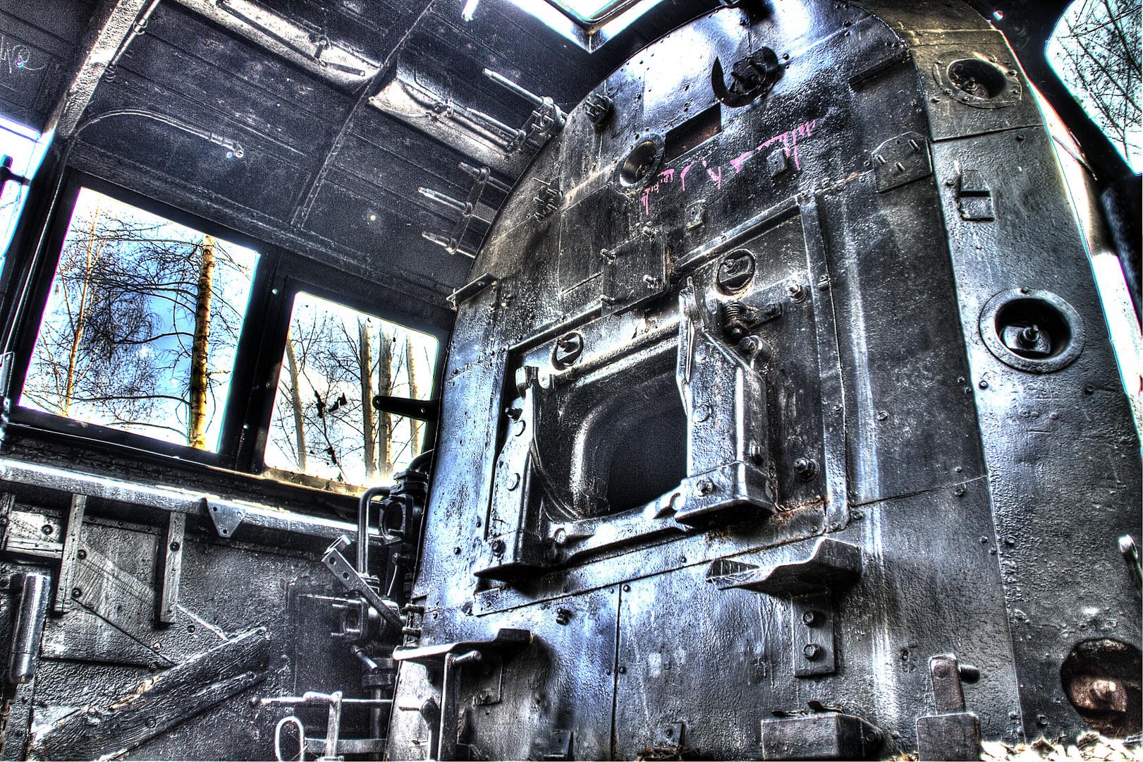 HDR alte Lokomotive