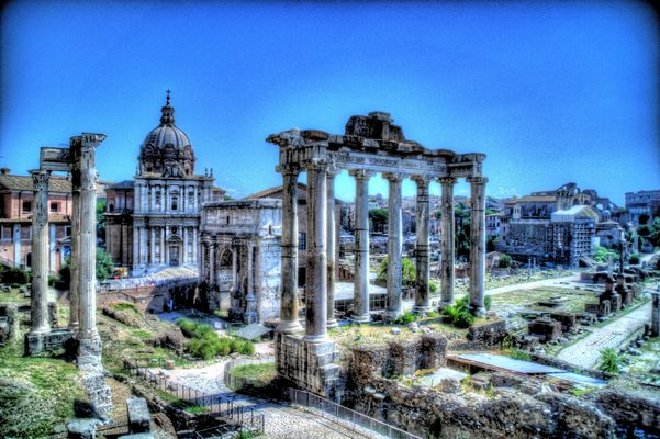 HDR-Aufnahme antikes Rom