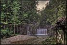 HDR Aufnahme Wasserfall