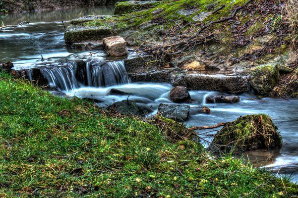 HDR Bild Fluss