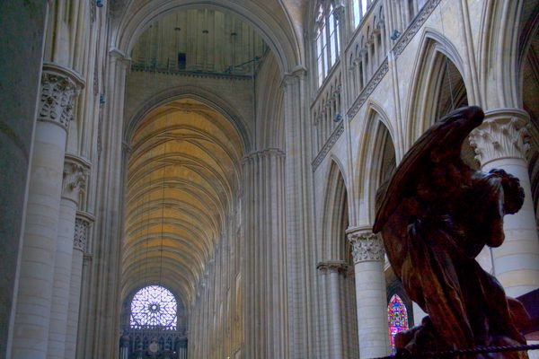HDR cathedrale rouen
