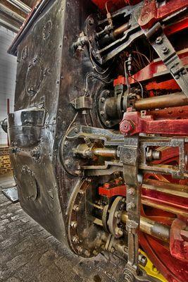 HDR Dampflock 97 502 aus dem Eisenbahnmuseum in Bochum-Dahlhausen