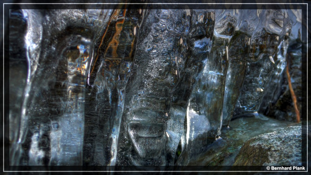 HDR Eisvorhang