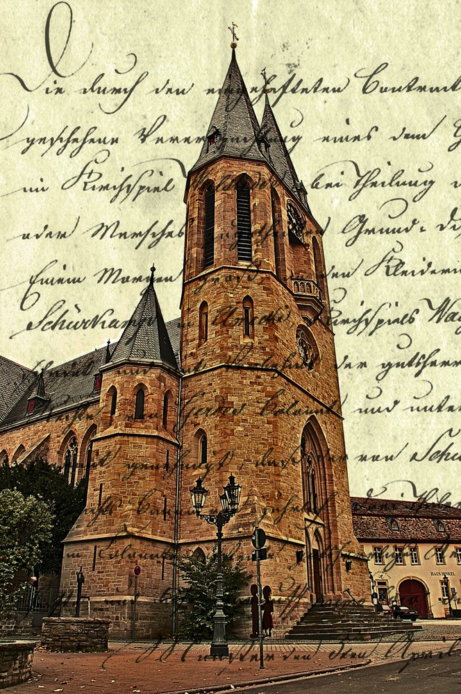 HDR Flohnheimer Kirche